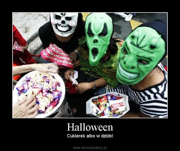 Halloween – Cukierek albo w dziób!