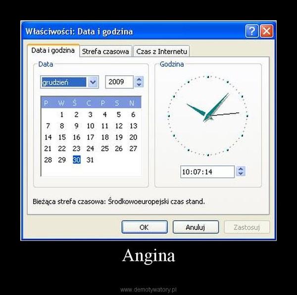 Angina –