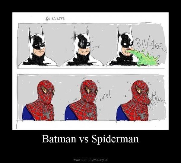 Batman vs Spiderman –