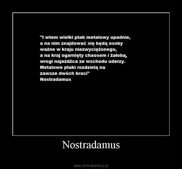 Nostradamus –