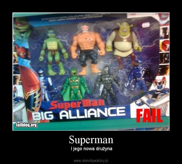 Superman –  I jego nowa drużyna