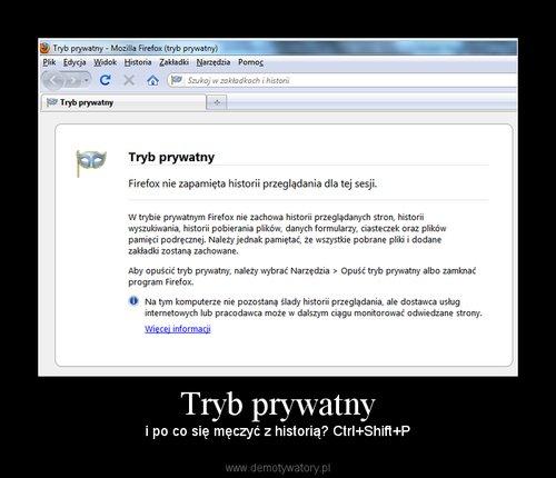 Tryb prywatny