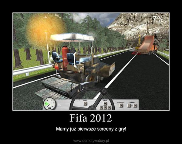 Fifa 2012 – Mamy już pierwsze screeny z gry!
