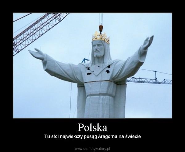 Polska – Tu stoi największy posąg Aragorna na świecie