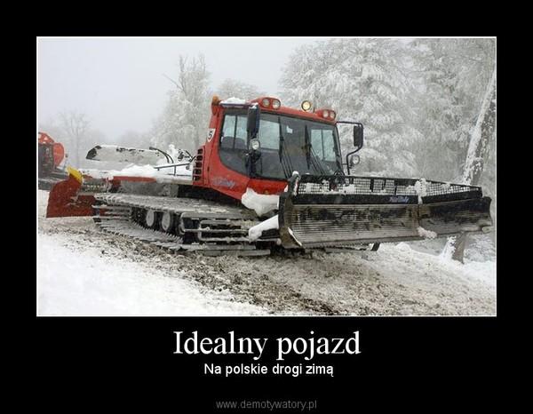 Idealny pojazd –  Na polskie drogi zimą