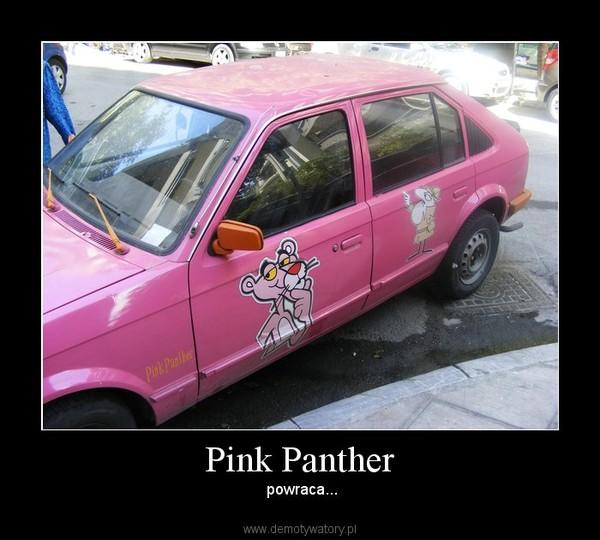 Pink Panther – powraca...
