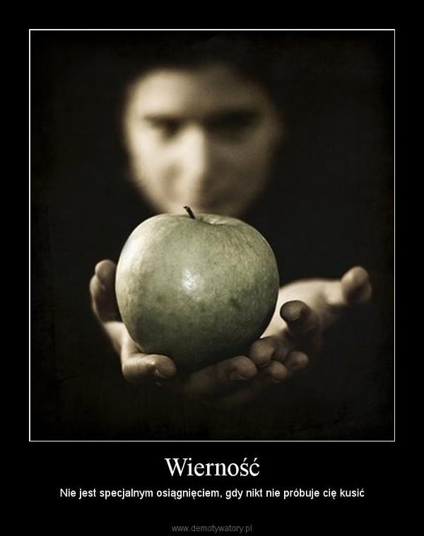 Wierność – Nie jest specjalnym osiągnięciem, gdy nikt nie próbuje cię kusić