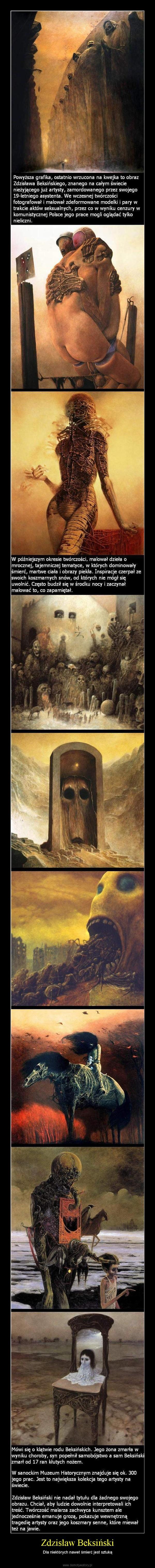 Zdzisław Beksiński – Dla niektórych nawet śmierć jest sztuką