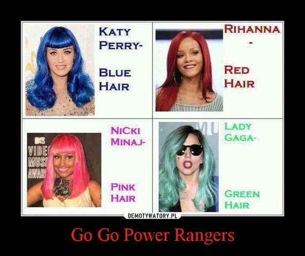 Go Go Power Rangers –