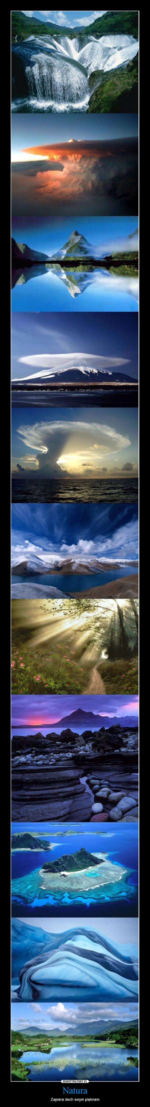 Natura – Zapiera dech swym pięknem