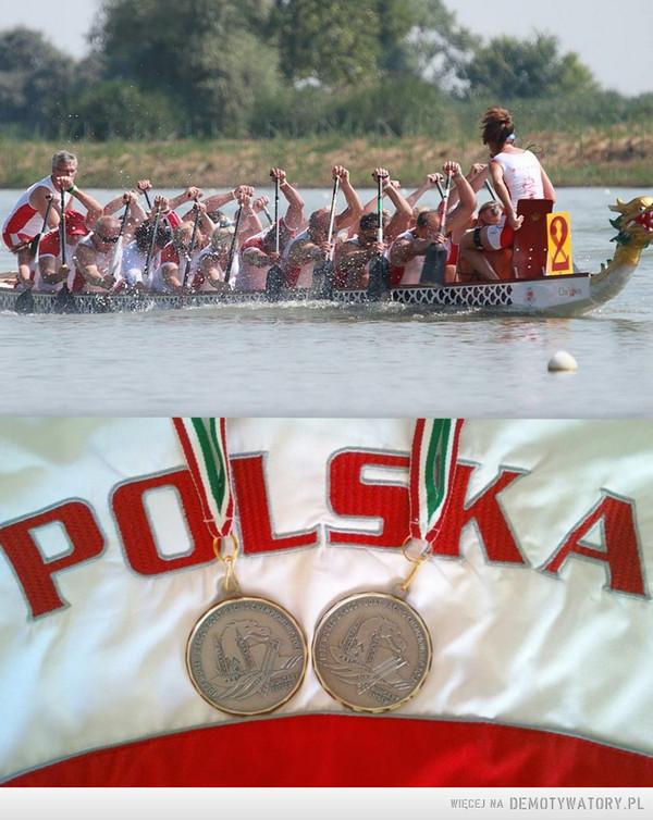 Srebrny Medal na Mistrzostwach Świata Smoczych Łodzi 2013 – DZIĘKUJEMY polskiej reprezentacji