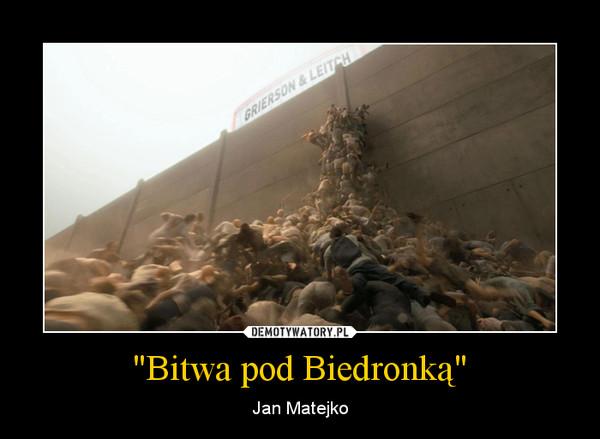 """""""Bitwa pod Biedronką"""" – Jan Matejko"""