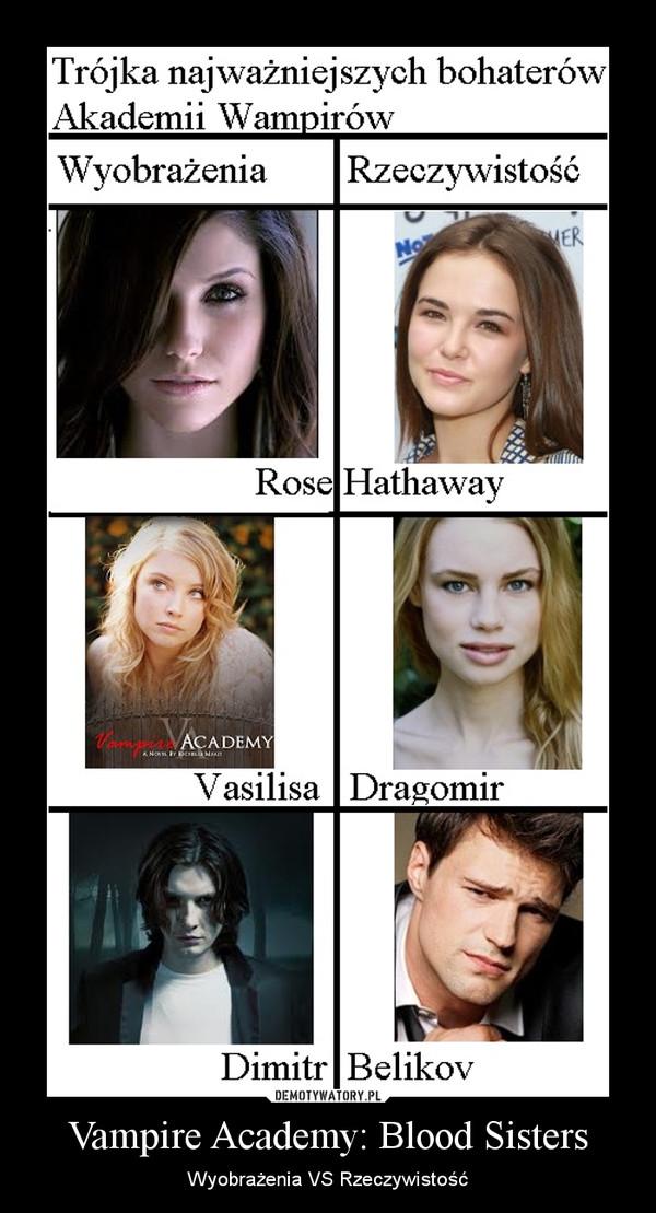 Vampire Academy: Blood Sisters – Wyobrażenia VS Rzeczywistość