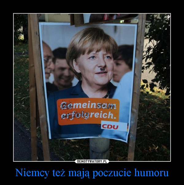 Niemcy też mają poczucie humoru –