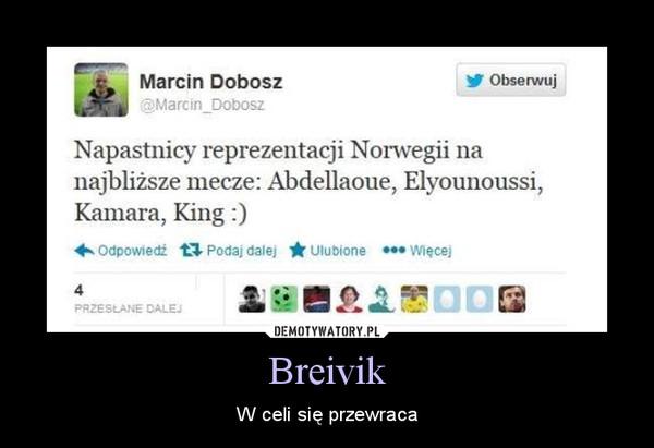 Breivik – W celi się przewraca