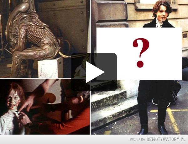 Co działo się za kulisami najbardziejprzerażających filmów grozy? –