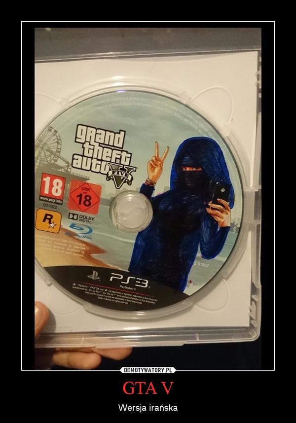 GTA V – Wersja irańska