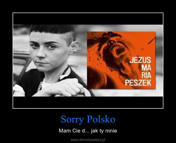 Sorry Polsko – Mam Cie d... jak ty mnie