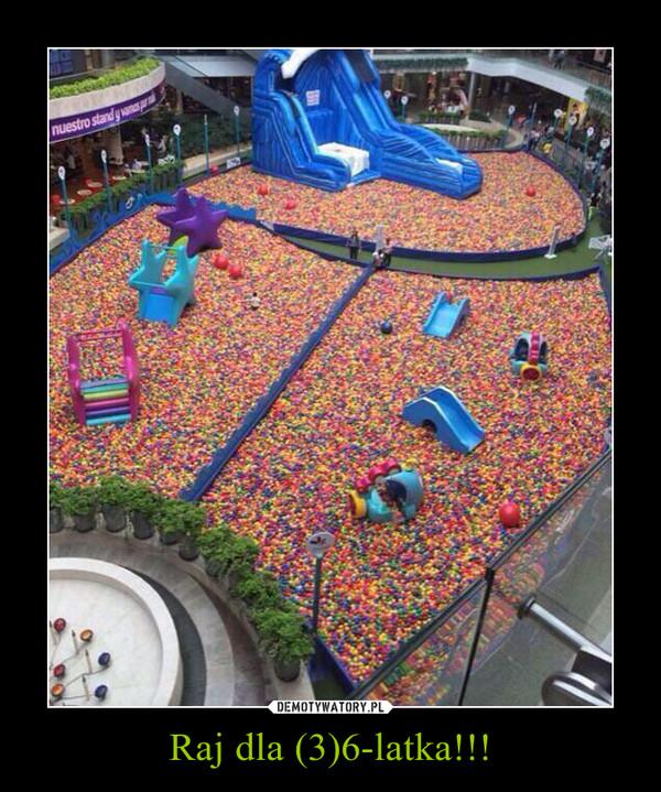 Raj dla (3)6-latka!!! –