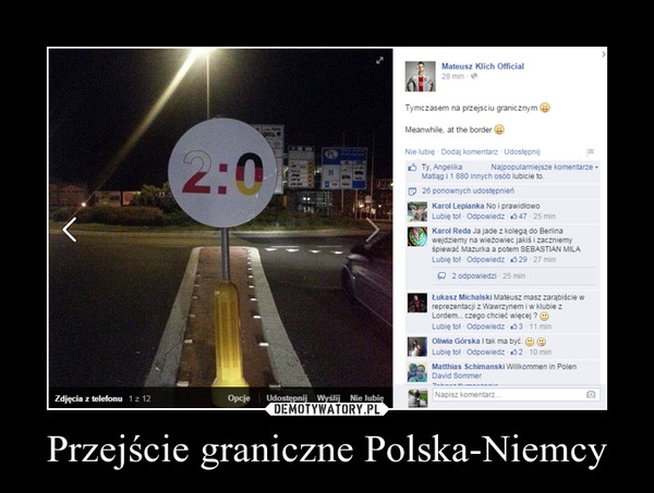 Przejście graniczne Polska-Niemcy –
