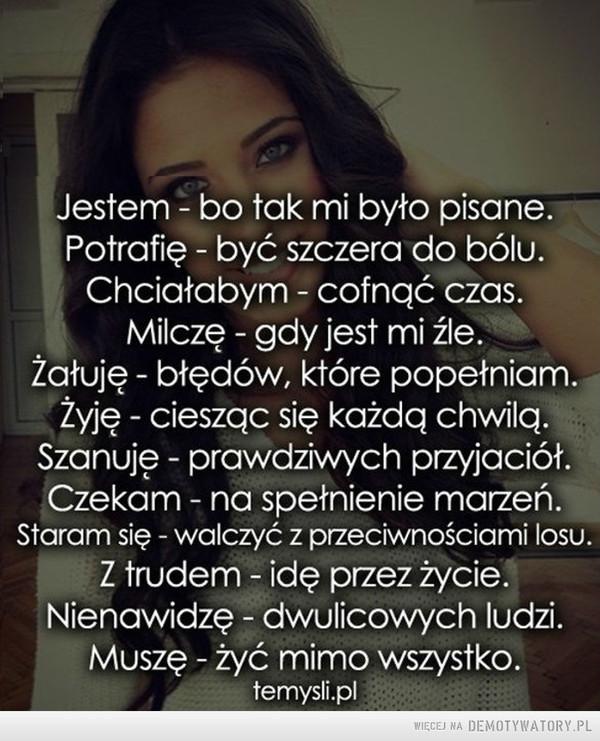 Taka jestem –