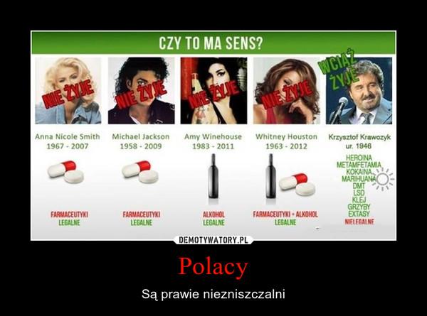 Polacy – Są prawie niezniszczalni