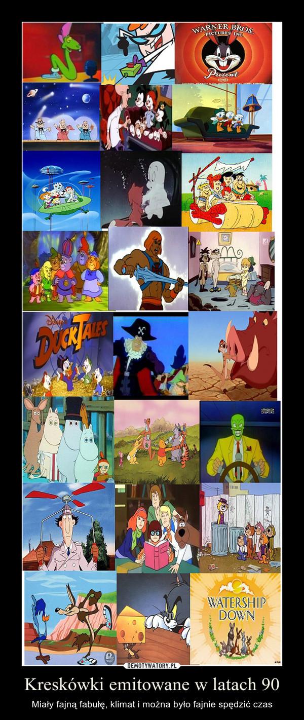 Kreskówki emitowane w latach 90 – Miały fajną fabułę, klimat i można było fajnie spędzić czas