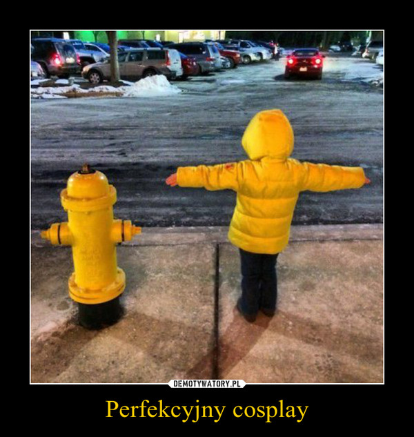 Perfekcyjny cosplay –