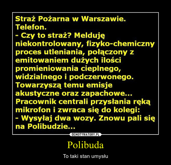 Polibuda – To taki stan umysłu