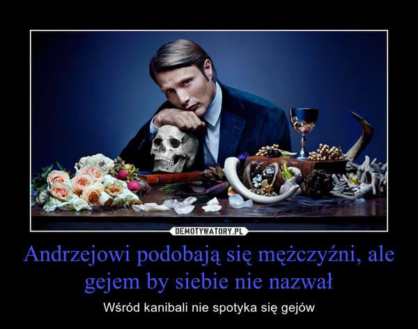 Andrzejowi podobają się mężczyźni, ale gejem by siebie nie nazwał – Wśród kanibali nie spotyka się gejów