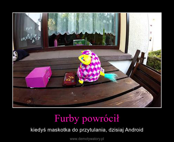 Furby powrócił – kiedyś maskotka do przytulania, dzisiaj Android