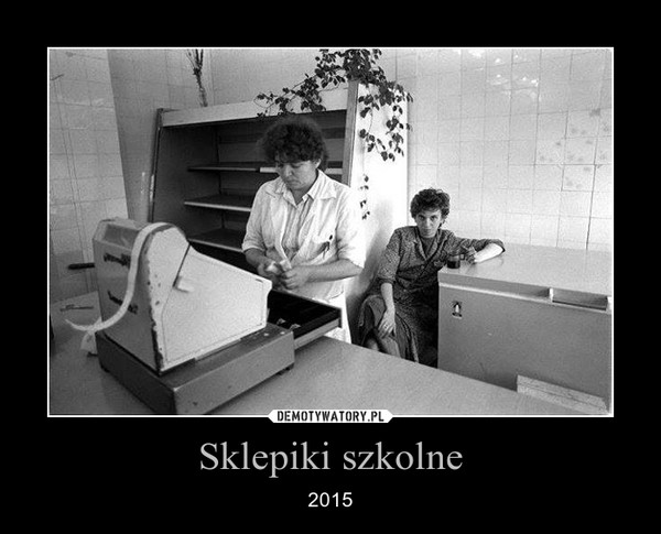 Sklepiki szkolne – 2015