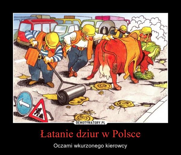 Łatanie dziur w Polsce