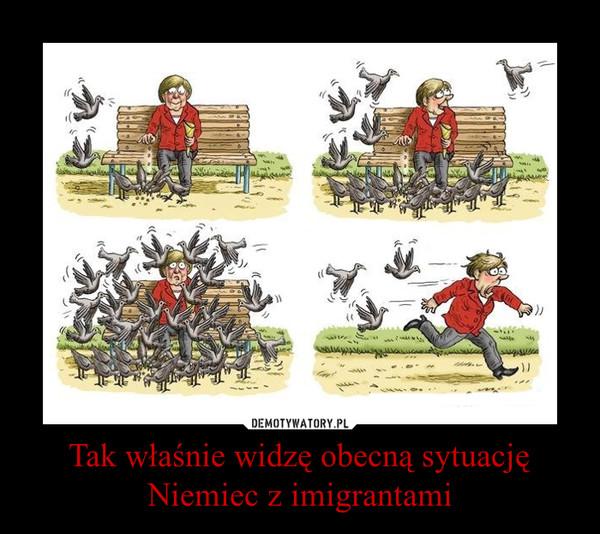 Tak właśnie widzę obecną sytuację Niemiec z imigrantami –