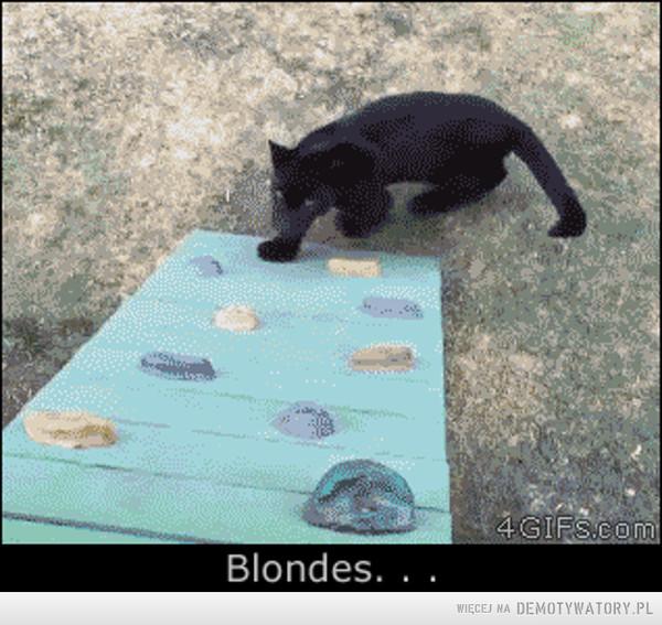 ''Blondynka'' lubi sobie utrudniać –