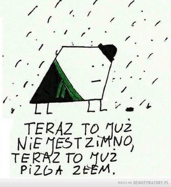 Zimno... –