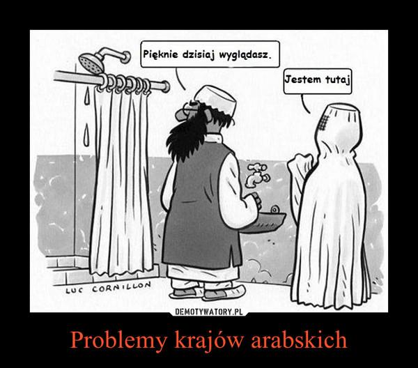 Problemy krajów arabskich –