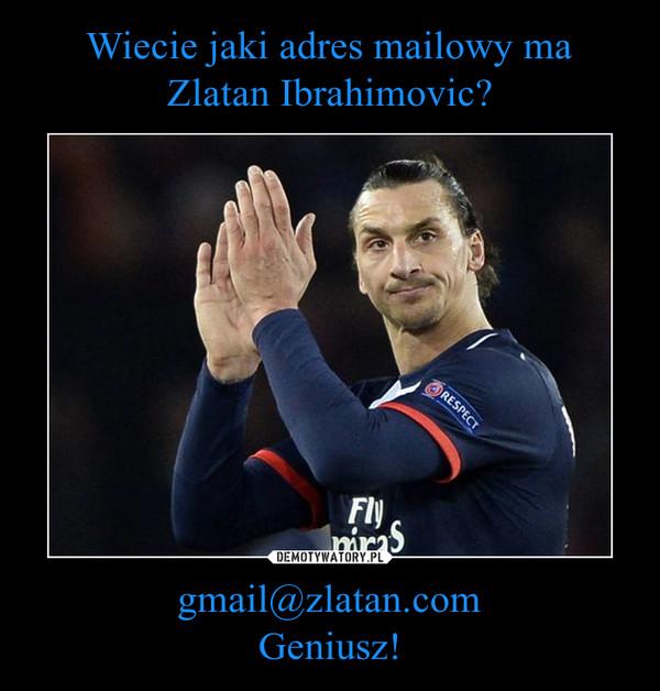 gmail@zlatan.comGeniusz! –