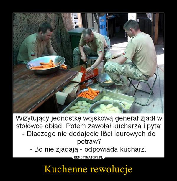 Kuchenne rewolucje –
