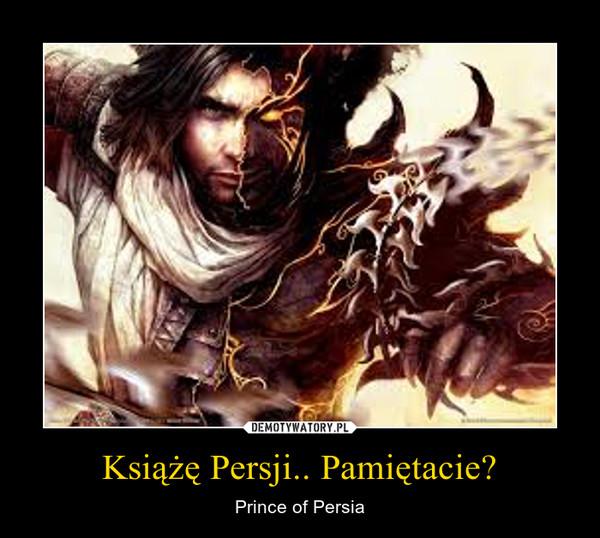 Książę Persji.. Pamiętacie? – Prince of Persia