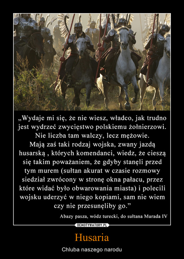 Husaria – Chluba naszego narodu