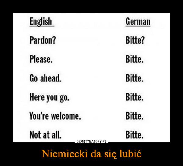 Niemiecki da się lubić –