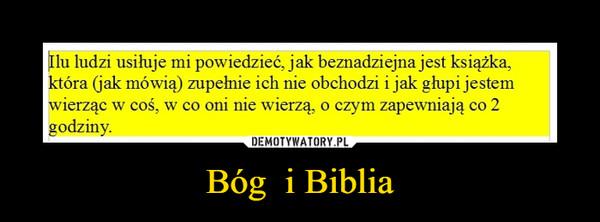 Bóg  i Biblia –