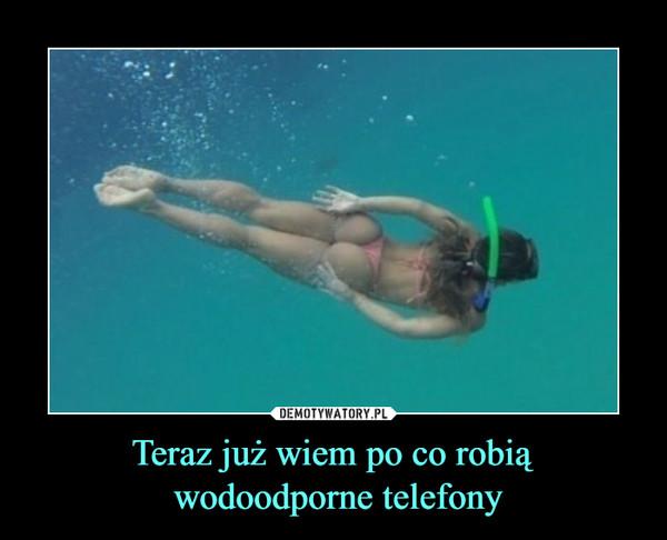 Teraz już wiem po co robią wodoodporne telefony –