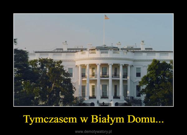 Tymczasem w Białym Domu... –