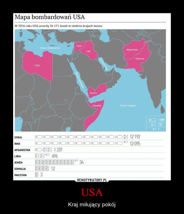 USA – Kraj miłujący pokój