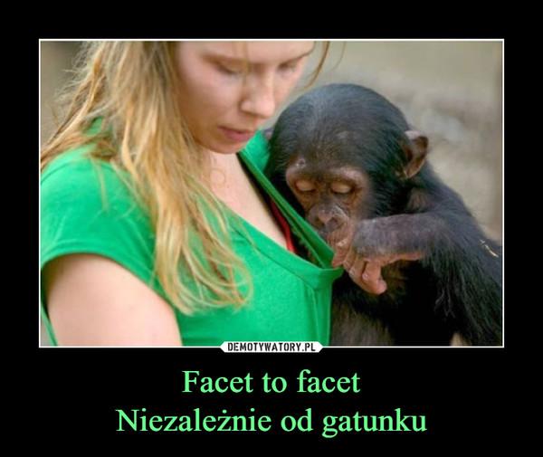 Facet to facetNiezależnie od gatunku –