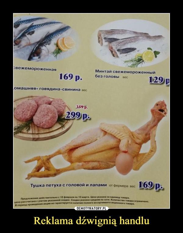 Reklama dźwignią handlu –
