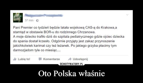 Oto Polska właśnie –