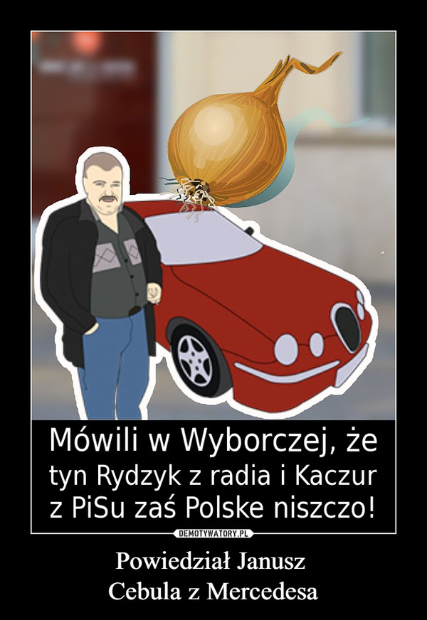Powiedział Janusz Cebula z Mercedesa –